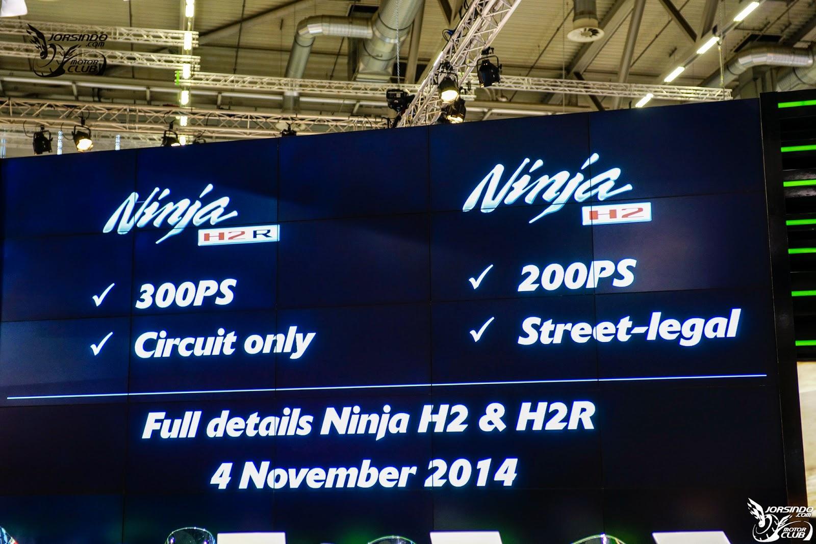 Kawasaki Ninja H2 spec