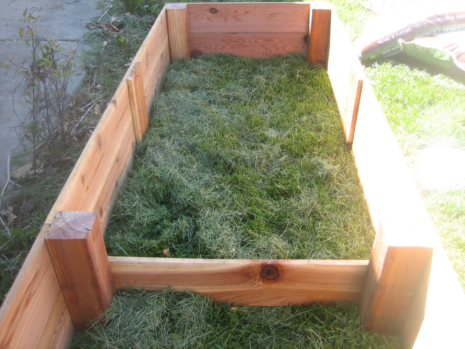 Cedar Garden Box For The Front Yard