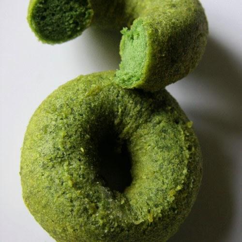 matcha donut