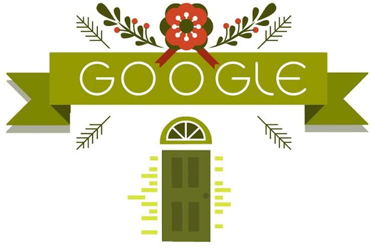 Logo Google 25 decembrie 2014