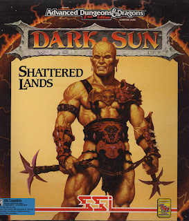 Dark Sun Shattered Land arcade game pc cover