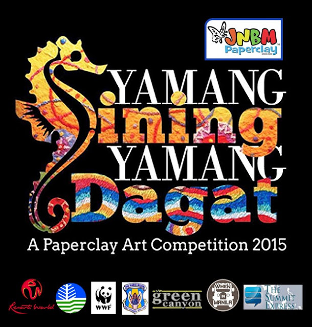 "National Paperclay Art Competition: ""Yamang Sining, Yamang Dagat"""