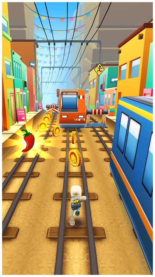Subway Surfers Android Apk Oyun resimi 1