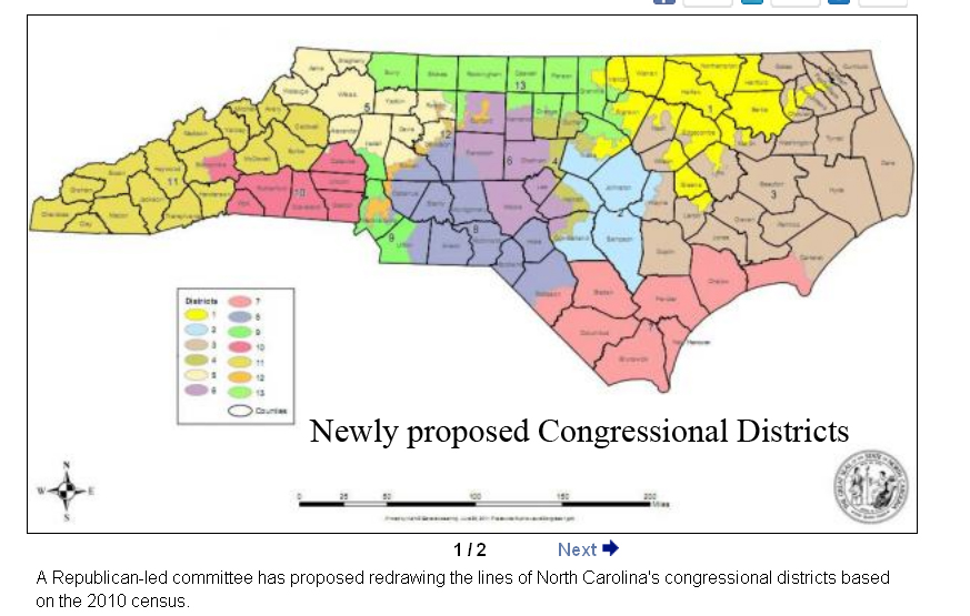 The Hickory Hound: North Carolina Congressional Redistricting planbalance of catawba county