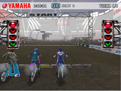Yamaha Supercross PC