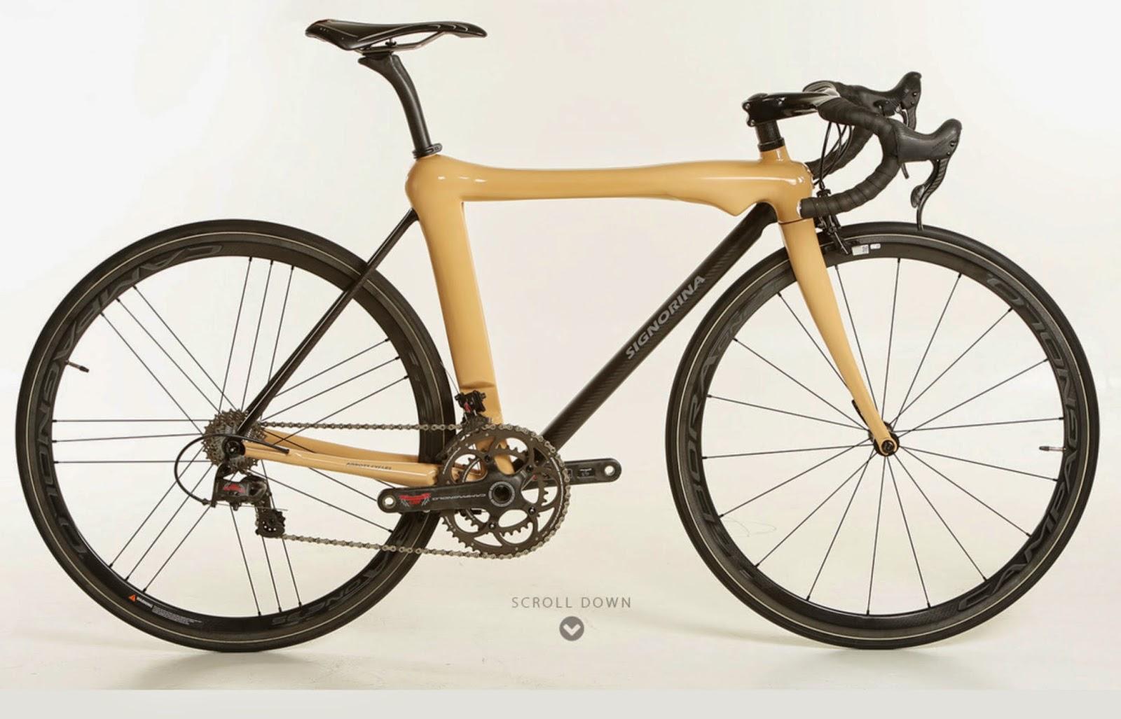 Signorina bike la bicicleta con el perfil del cuerpo de for Disenos para bicicletas