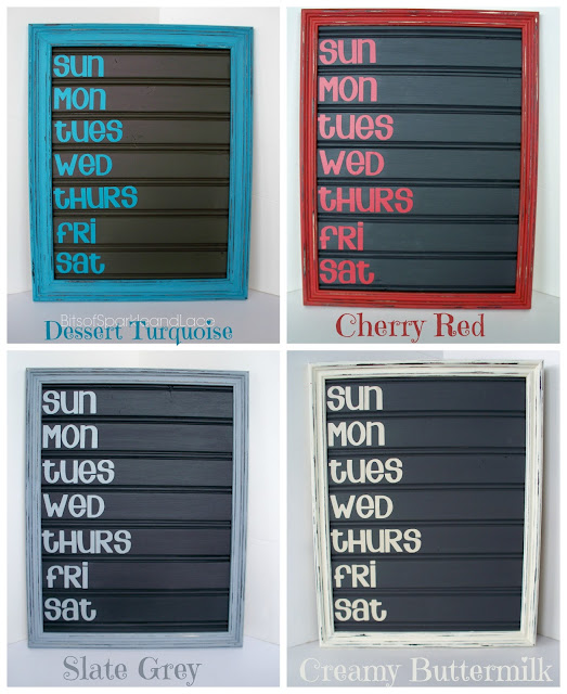Chalkboard Menu Board