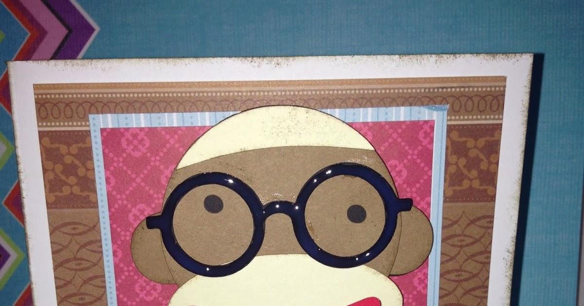 Sock monkey svg : applique corner sock monkey dress cuttable svg