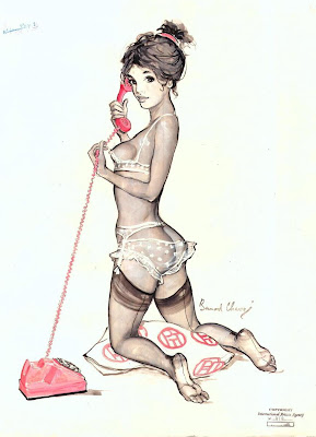 Bernard Charoy pin up