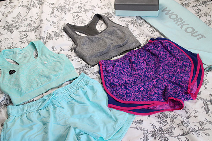 fitness haul outfit photos