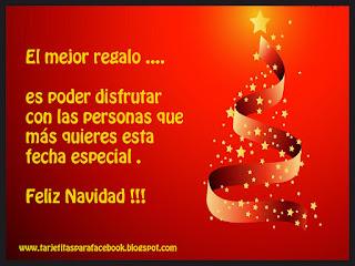 Tarjeta de navidad para facebook el mejor regalo - La mejor tarjeta de navidad ...