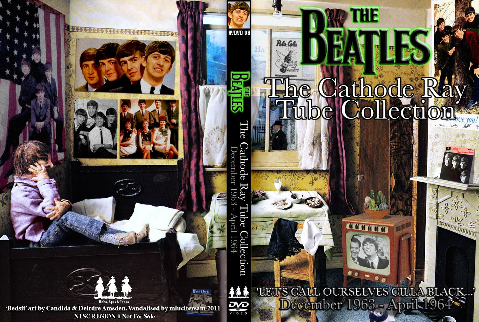 The Beatles Cathode ray tube collection (8 DVDS)