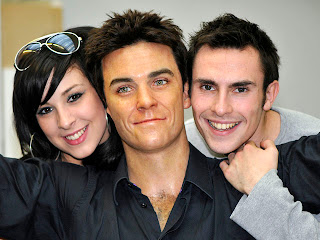 robbie williams, madame tussaud