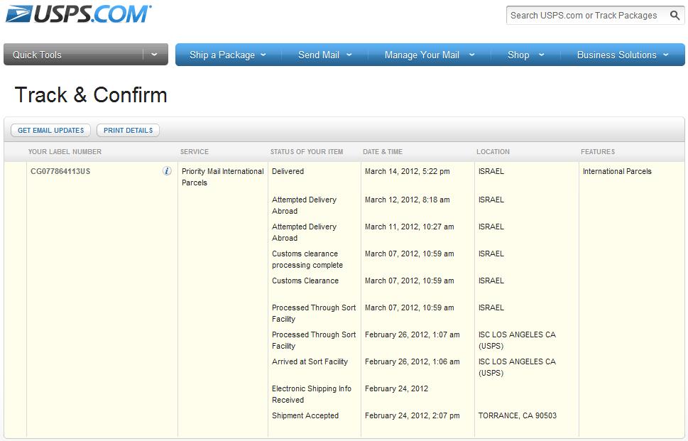 Skoda fabia in israel autogeek order - Post office tracking item ...
