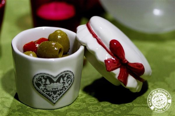 Wasabi olijven