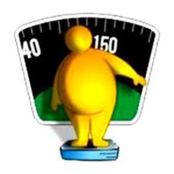 Obesidad Caricatura