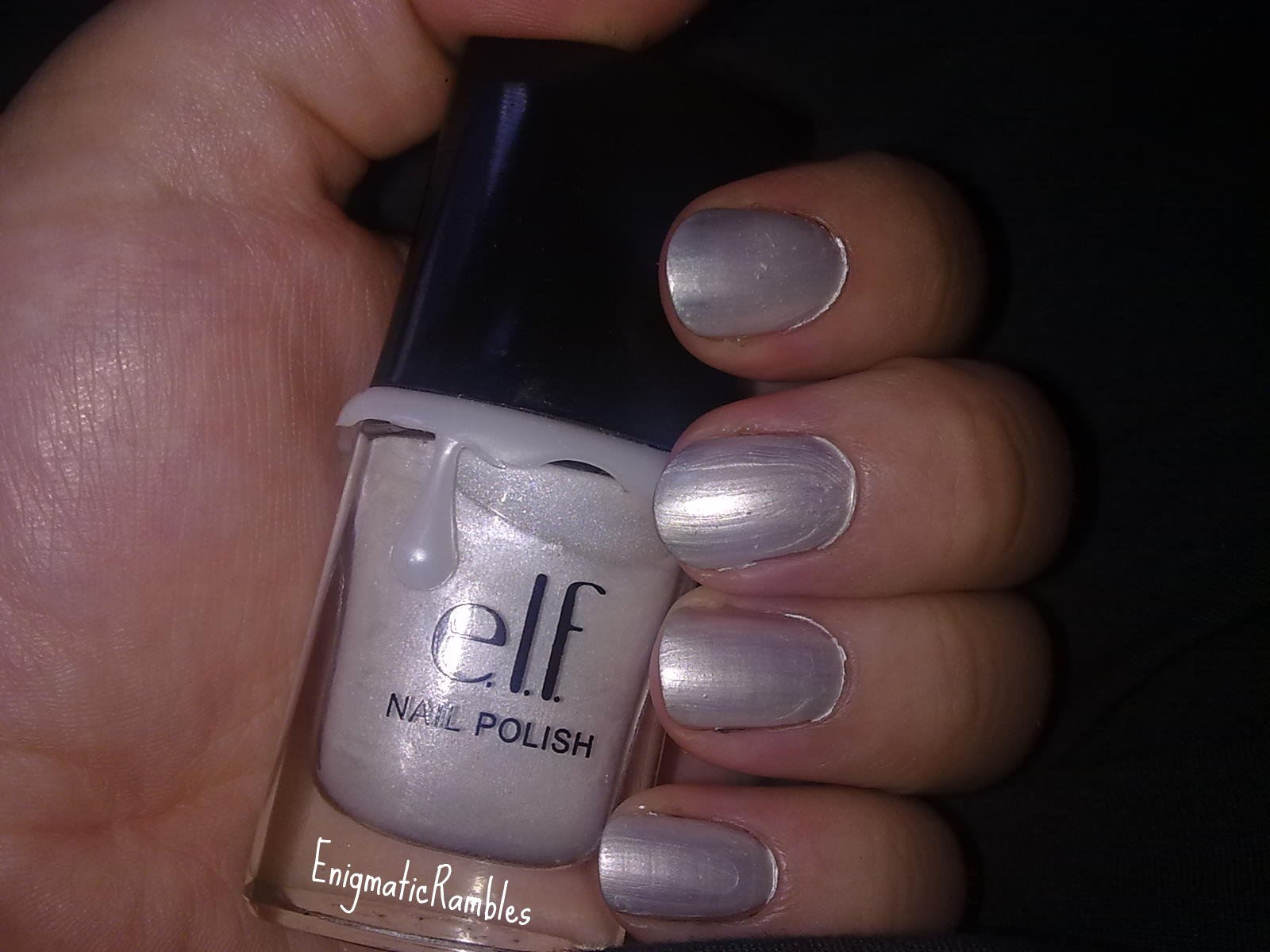Awesome Burnt Orange Nail Polish Thin Best At Home Gel Nail Polish Kit Clean What Gets Nail Polish Off Nail Polish In Islam Youthful Gradation Nail Polish WhiteHow To Make Black Nail Polish Enigmatic Rambles: Review: ELF   Nail Polish   Pearl