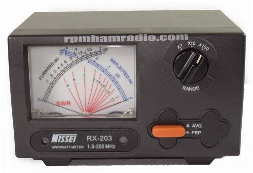 NISSEI RX-203 SWR Meter