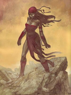 Sexiest Women in Comics - hot elektra - beautiful  women artwork