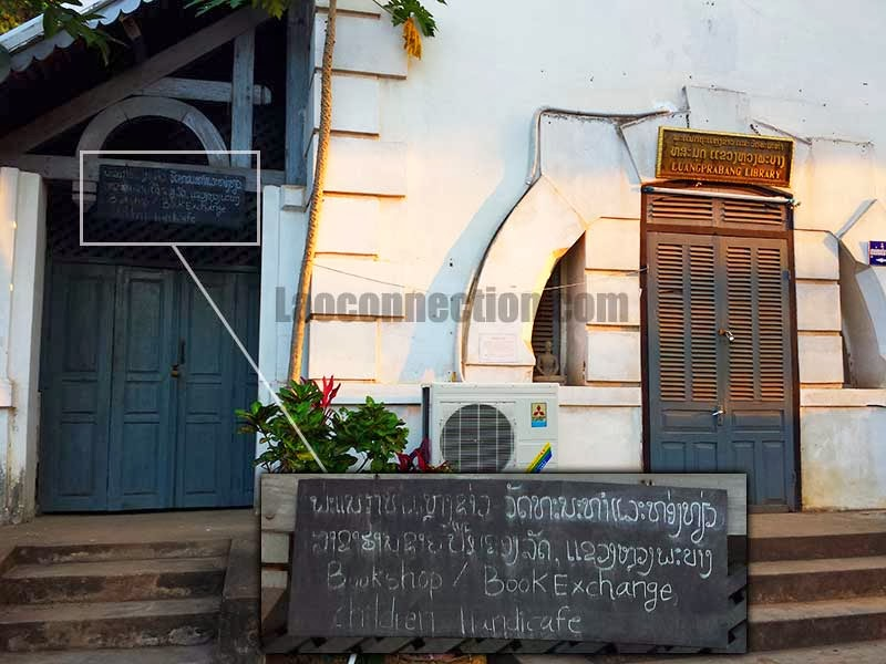 Image of the Luangprabang Public Library Bookstore