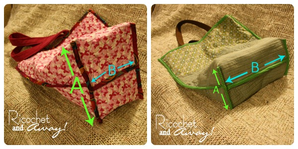 Ricochet And Away Quilted Tote Bag Tutorial