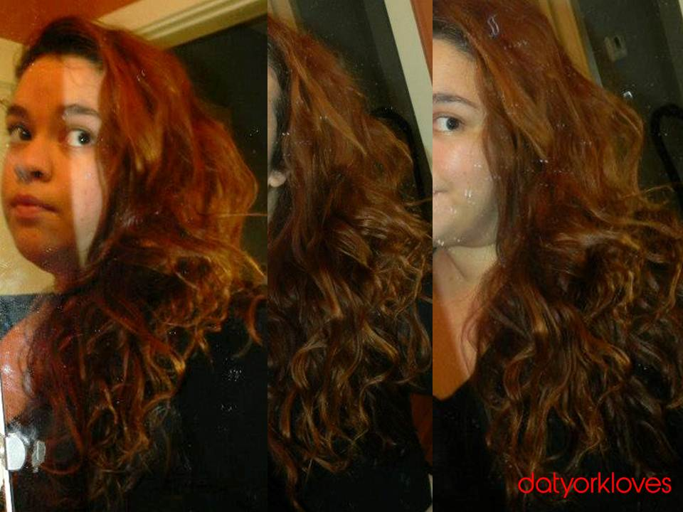 Oreal Hicolor Red Hot | Dark Brown Hairs