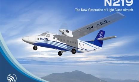 Komponen Pesawat N219 Siap 80 Persen