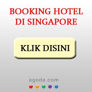 Anda bisa booking hotel di Singapore melalui Hotelspore yang jadi partner Agoda