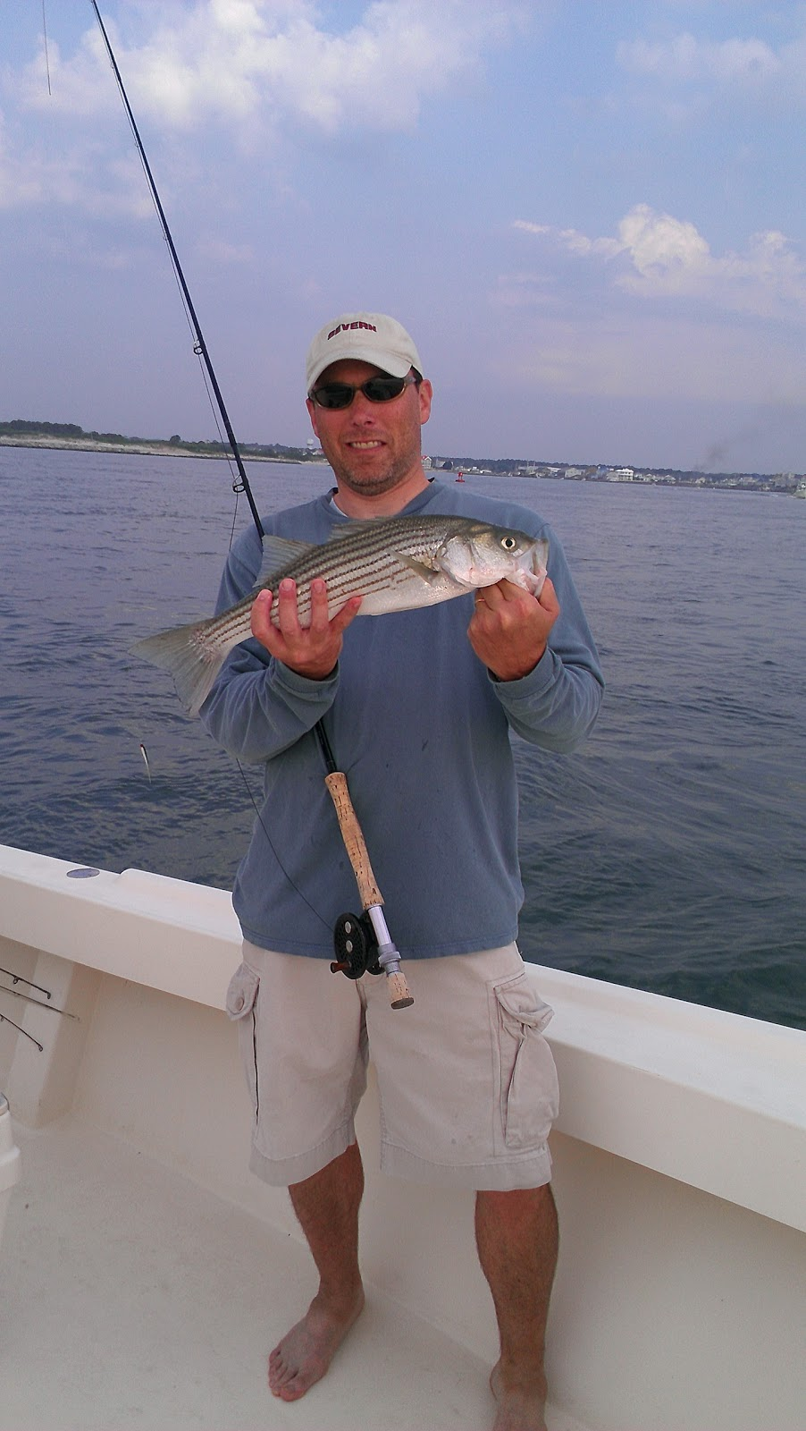 Lew 39 s fly angler chesapeake bay and gunpowder river for Ocean city fishing report