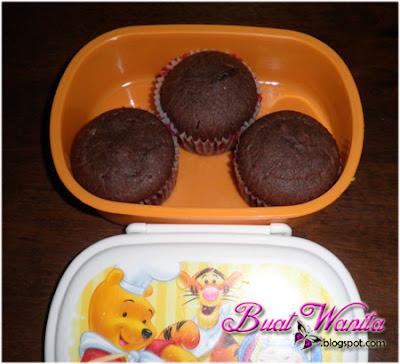Bekal Anak Ke Sekolah, muffin coklat