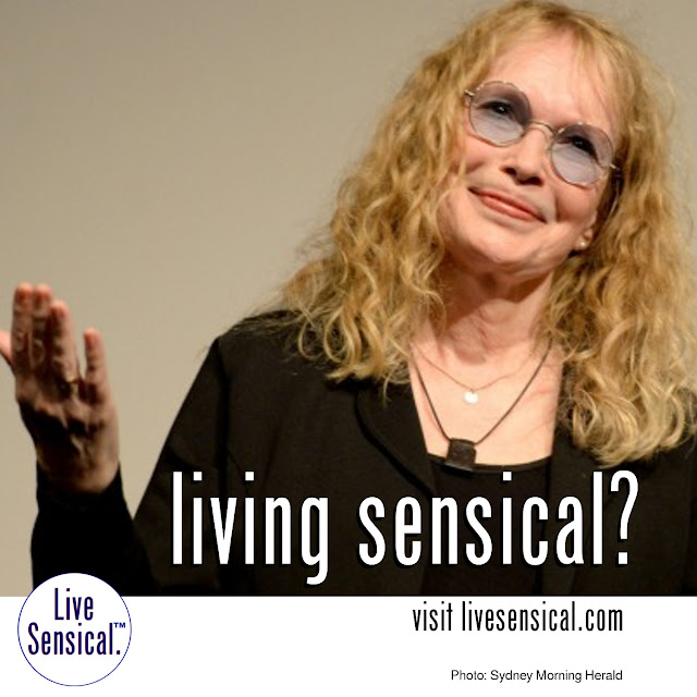 Mia Farrow - how to livesensical.com? This US actress was so enraged over the death of Cecil the lion in Zimbabwe that she joined the online chorus of social media users venting their anger at the dentist Walter James Palmer who killed the animal. Then she posted his business address on Twitter - Oops.