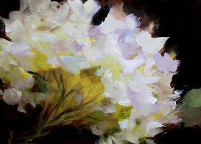 Nancy medina art white hydrangea solo by texas flower artist nancy white hydrangea solo by texas flower artist nancy medina mightylinksfo