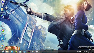 Bioshock Infinite Windows 8 Theme