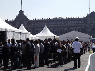 Feria del Empleo en la Ciudad de México