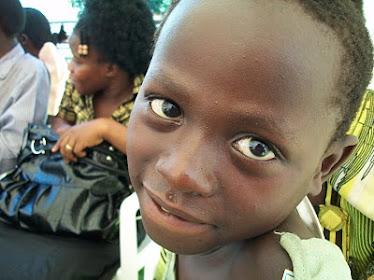Justina från Uganda