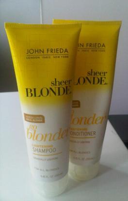 Addicted 2 Beauty John Frieda Go Blonder Lightening