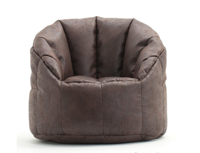 BeanSak Big Joe Milano Faux Leather Bean Bag Chair