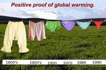 Rechauffement climatique: la preuve!