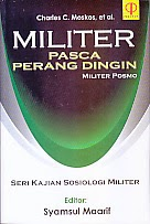 toko buku rahma: buku MILITER PASCA PERANG DINGIN MILITER POSMO SERI KAJIAN SOSIOLOGI MILITER, pengarang syamsul maarif, penerbit prenada