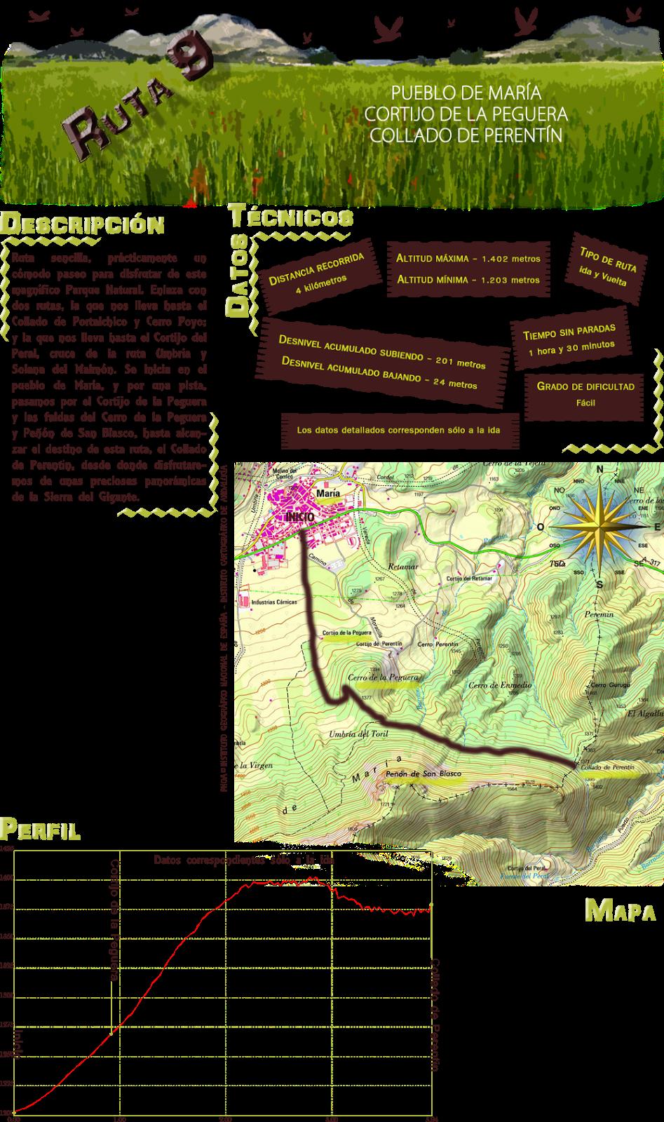 Ruta 9: Descripcion y datos tecnicos