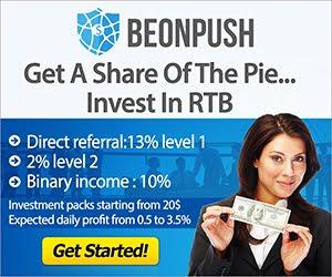 Làm giàu chỉ với 20usd với Beonpush