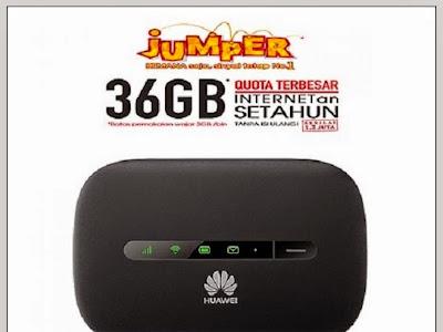 Huawei Jumper E5330 Modem MiFi Paket Telkomsel