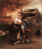 Raffaello Sanzio - San Michele e il drago