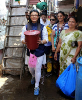 Rakhi Sawant supports 'Beti Bachao Desh Bachao' initiative on Women's Day