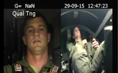 Απίστευτο βίντεο εκπαίδευσης πιλότου στα 9G