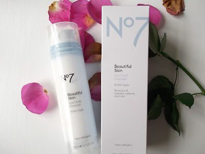 Boots no7 Hot cloth cleanser Review | The Lavender Barn