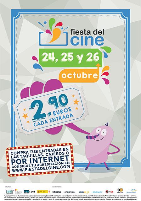 Fiesta Del Cine (24, 25 y 26 de octubre)