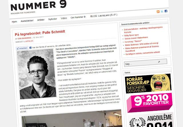 Interview: NUMMER 9