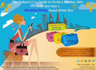 The Nature's Co.: Announces FLAT 50% off Tomorrow and reveals their May BeautyWishBox image