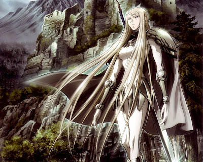 Claymore | Wallpaper | Sword | Anime Girl | Blonde Hair